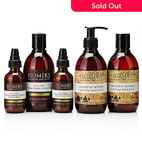 304-843 - ISOMERS® All-in-ONE Moisture Fix Trio w/ Bonus Franken-Myrrh Gift Duo