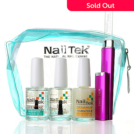 304-866 - Nail Tek Four-Piece Strong & Healthy Nails Kit w/ Bag