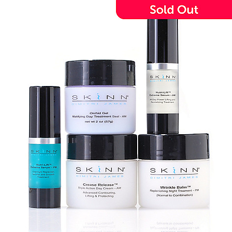 304-904 - Skinn Cosmetics Five-Piece ''Early Signs Treat & Lift'' Anti-Aging Set