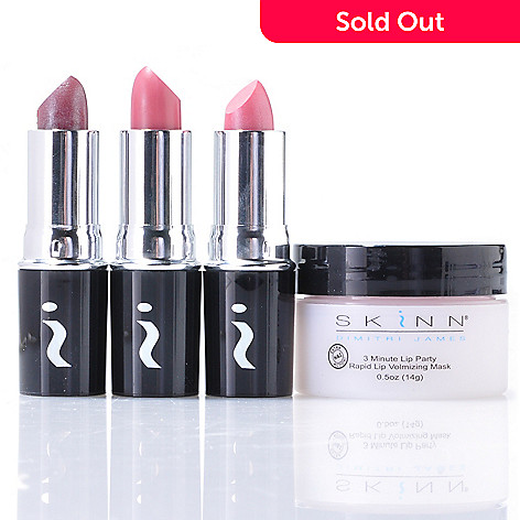 304-907 - Skinn Cosmetics Four-Piece Lip Revolution Set