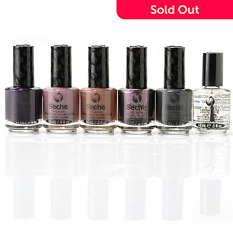304-910 - Seche® Contemporary & Fast Dry Top Coat Six-Piece Set