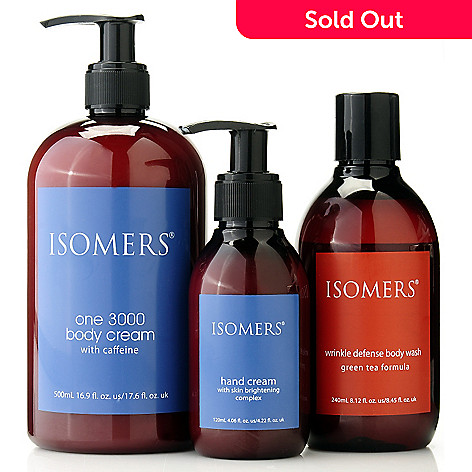 305-041 - ISOMERS® Wrinkle Smoothing Body Care Trio