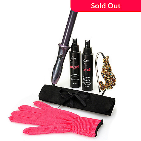 305-059 - Sultra™ Seven-Piece ''The Bombshell™'' Rod Curling Iron Limited Edition Plum Gift Set
