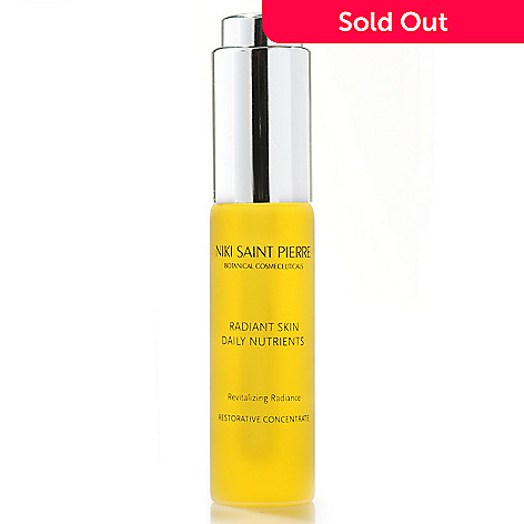 305-072 -  Niki Saint Pierre Anti-Aging Daily Nutrients Skincare Serum 0.5 oz