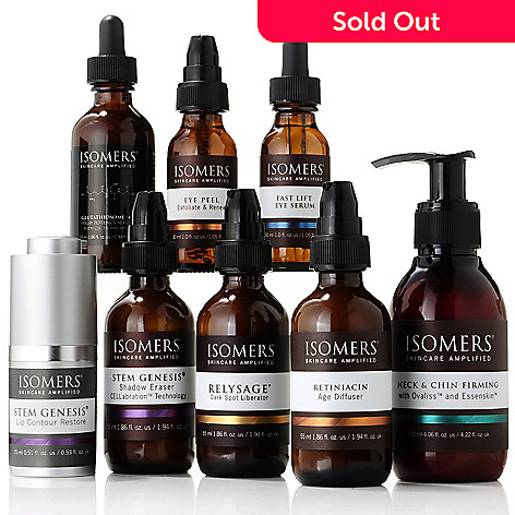 305-137 - ISOMERS Skincare Eight-Piece ''Fabulous at 50'' Problem Solving Regimen