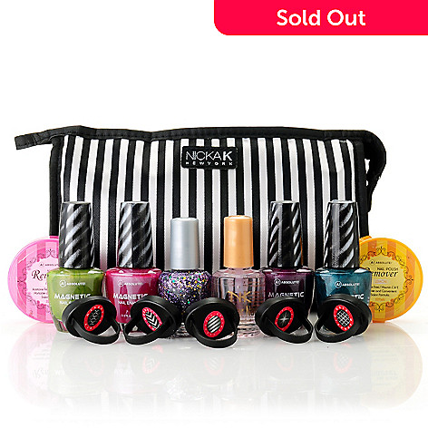 305-157 - ABSOLUTE! Nine-Piece ''Shades of Spring'' Magnetic Nail Enamel Collection