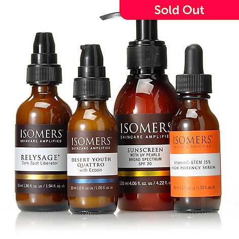 305-162 - ISOMERS Skincare Four-Piece Manuela's Skincare Essentials to Restore & Protect in Every Season