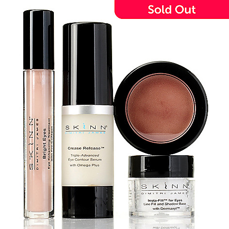 305-178 - Skinn Cosmetics Four-Piece ''Behold the Eyes'' Collection