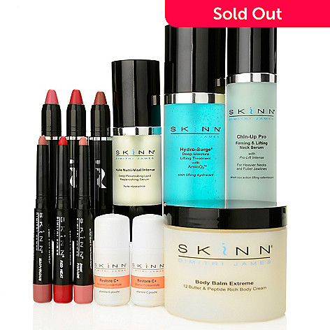 305-191 - Skinn Cosmetics 12-Piece Winter Recovery & Revitalize Collection