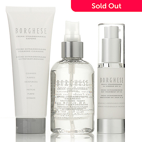 305-198 - Borghese Effortlessly Extraordinary Three-Piece Skincare Set