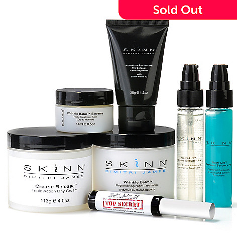 305-208 - Skinn Cosmetics Seven-Piece Ultimate Perfection Beauty & Treatment Set