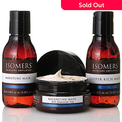 305-219 - ISOMERS® Three-Piece Rejuvenating Mask Collection
