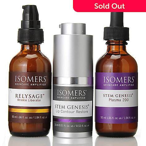 305-220 - ISOMERS Skincare Stem Genesis® Plasma 200 Serum w/ Two-Piece Advanced Skincare Correction Set