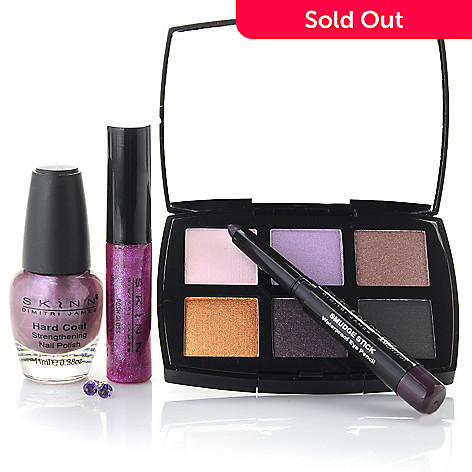 305-232 - Skinn Cosmetics Five-Piece Special Edition Amethyst Collection