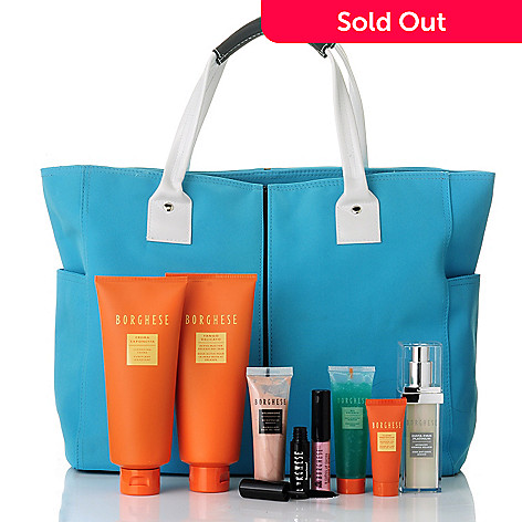 305-257 - Borghese Eight-Piece Restore & Retreat Collection w/ Spring Tote