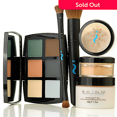 305-270 - Skinn Cosmetics Six-Piece Perfect Complexion & Shadow Set