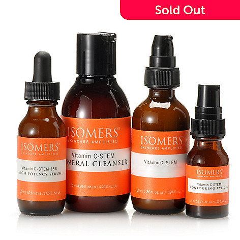 305-323 - ISOMERS Skincare Four-Piece Vitamin C-STEM Essential Wrinkle Solution Set