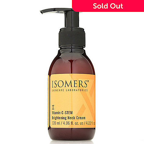 305-328 - ISOMERS Skincare Vitamin C-STEM Brightening Neck Cream 4.06 oz