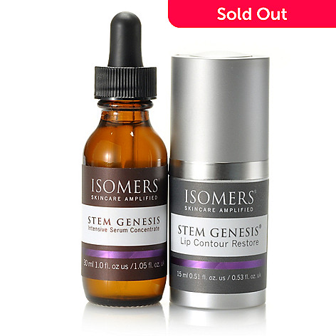 305-330 - ISOMERS Skincare Stem Genesis® Intensive Serum & Lip Contour Restore Duo