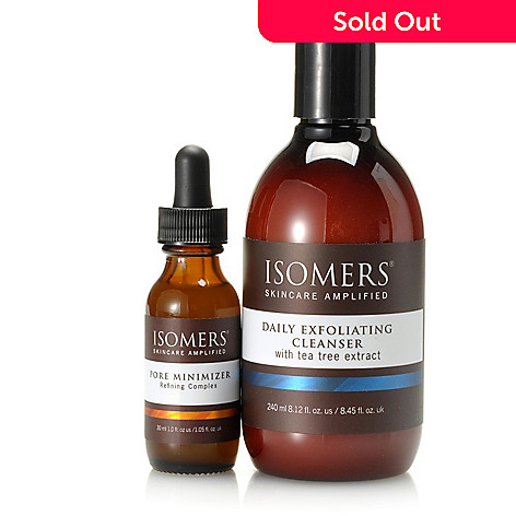 305-333 - ISOMERS® Two-Piece Pore Minimizer & Daily Exfoliating Cleanser Set