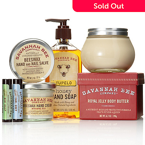305-337 - Savannah Bee Company Southern Hospitality Six-Piece Bath & Body Collection