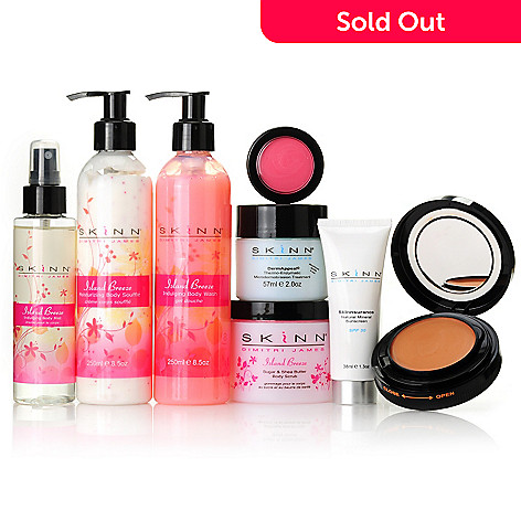 305-340 - Skinn Cosmetics Eight-Piece ''Summer Stunner'' Collection