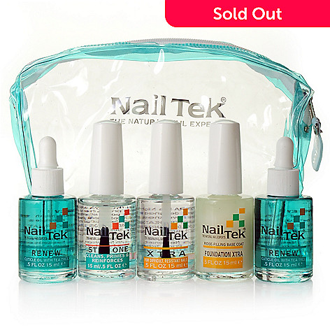 305-352 - Nail Tek Five-Piece XTRA Intense Total Nail Recovery Kit w/ Bag