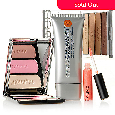 305-359 - CARGO Cosmetics Four-Piece Eyes, Lips & Cheeks Contouring Color Kit