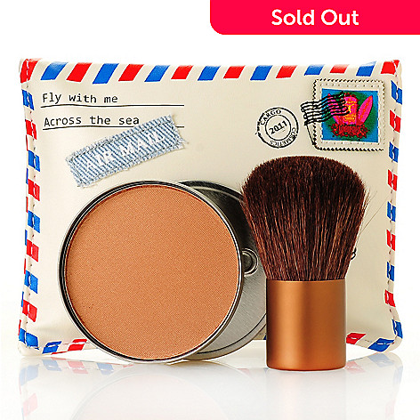 305-363 - CARGO Cosmetics Two-Piece Voyages Bronzer & Brush Collection