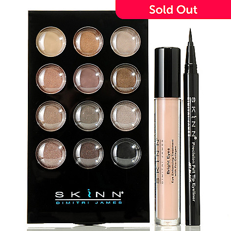 305-399 - Skinn Cosmetics Three-Piece ''Beautiful Eyes Made Easy'' Set