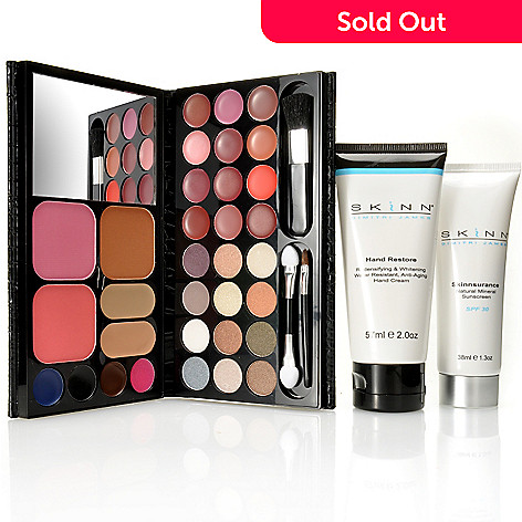 305-410 - Skinn Cosmetics Three-Piece ''On the Go'' Beauty Essentials Kit