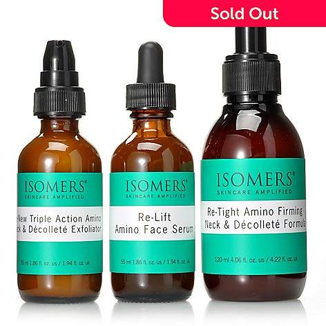 305-537 - ISOMERS® Three-Piece Amino Complex Tightening Trio for Face, Neck & Décolleté