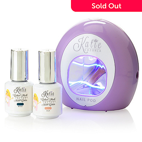 305-548 - #HollywoodTrends™ Color Flash Instant Gel Nails Duo & LED POD by Katie Cazorla