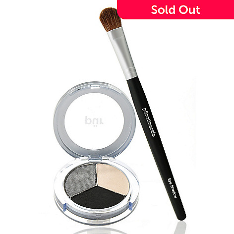 305-594 - Pür Minerals Two-Piece ''Rock Goddess'' Shadow Trio w/ Shadow Brush