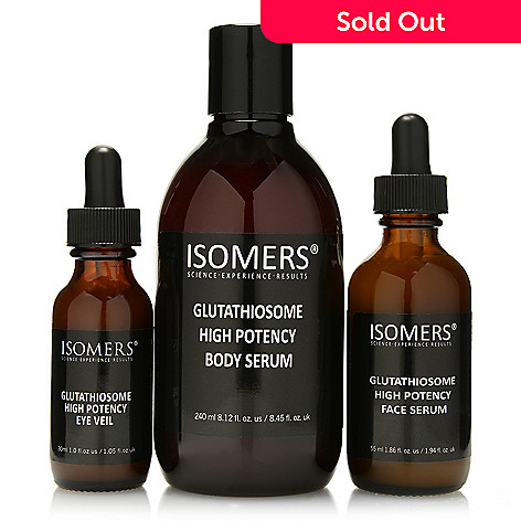 305-599 - ISOMERS Skincare Three-Piece C2C Glutathiosome-47 Revitalize, Reform & Correct Series