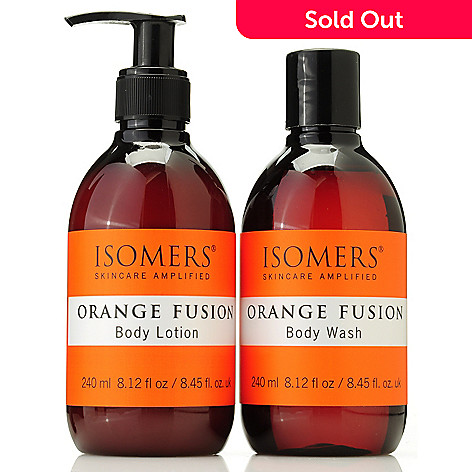 305-601 - ISOMERS® Orange Fusion Body Wash & Lotion Duo