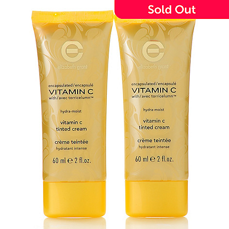 305-643 - Elizabeth Grant Vitamin C Hydra-Moist Tinted Cream Duo 2 oz Each
