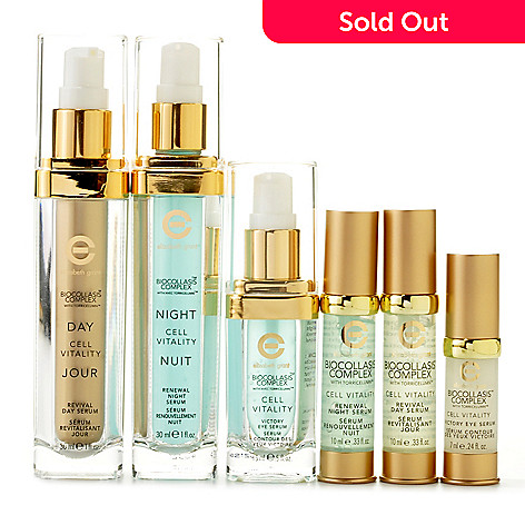 305-644 - Elizabeth Grant Six-Piece Cell Vitality Serums Collection