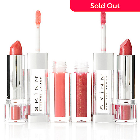 305-665 - Skinn Cosmetics Two-Piece Twin Set Lip Duos