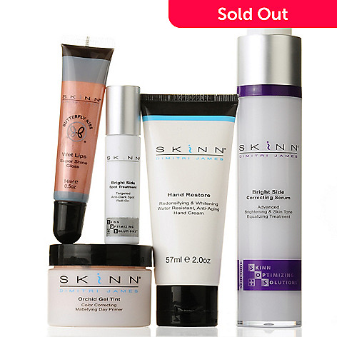 305-689 - Skinn Cosmetics Five-Piece ''Brighten Up Your Life'' Collection