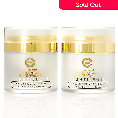 305-735 - Elizabeth Grant Exclusives Light 99% Oil-Free Moisturizer Duo 1.7 oz Each