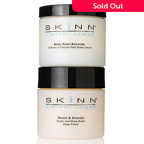 305-784 - Skinn Cosmetics Sweet & Smooth Body Polish & Body Balm Extreme Duo