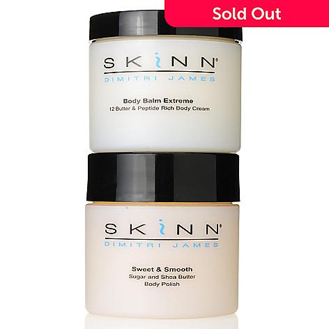 305-784 - Skinn Cosmetics Sweet & Smooth Body Polish & Body Balm Extreme Duo