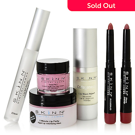 305-786 - Skinn Cosmetics Six-Piece ''Pucker Up!'' Essentials Collection