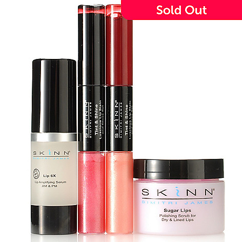 305-797 - Skinn Cosmetics Four-Piece ''Sweet Kissable Lips'' Collection