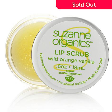 305-829 - Suzanne Somers Organics Lip Scrub 0.6oz