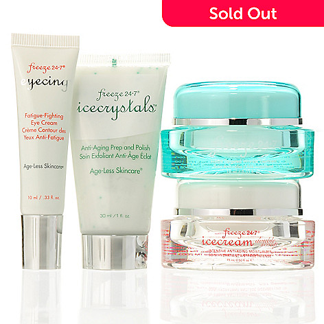 305-833 - Freeze 24-7® Four-Piece Age-Less Skincare Miracle Kit