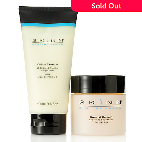 305-875 - Skinn Cosmetics Creme Extreme Body Lotion & Sweet & Smooth Body Polish Duo