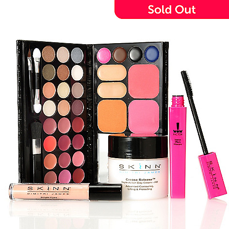 305-954 - Skinn Cosmetics Four-Piece ''Put Your Best Face Forward'' Kit