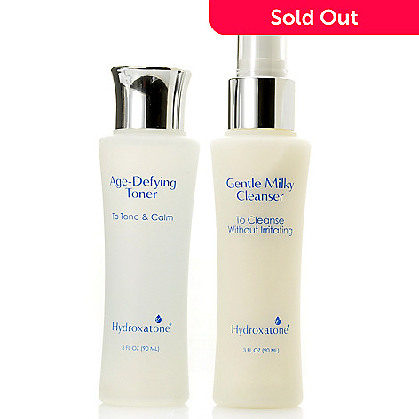 305-960 - Hydroxatone Gentle Milky Cleanser & Age-Defying Toner Duo